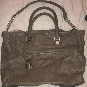 Steve Madden gray tote bag